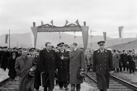 Rok 1955: Dvojkoľajná Trať družby v plnej prevádzke