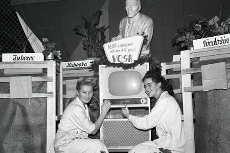 Rok 1959: V Oravskej Tesle vyrobili päťdesiattisíci televízor
