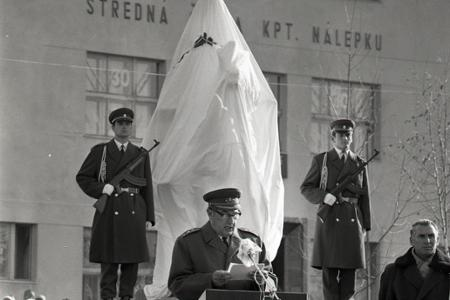 Rok 1973: Veľkolepé odhalenie pamätníka J. Nálepku v Stupave
