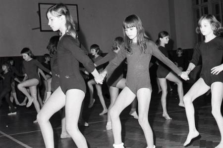 Rok 1974: Začínajú sa nácviky na spartakiádu