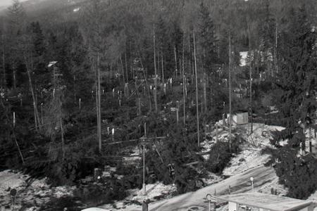 Rok 1970: Vysokými Tatrami sa prehnala víchrica
