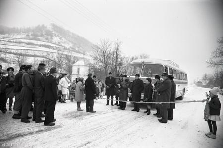 Rok 1967:Poslednú obec okresu Lučenec napojili na autobusovú sieť
