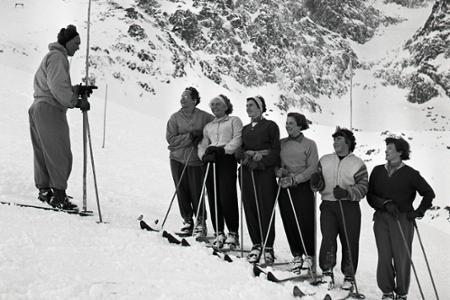Rok 1955: Skalnaté Pleso prichýlilo našich zjazdárov