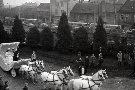 Rok 1960: Do Bratislavy zavítal Dedo Mráz