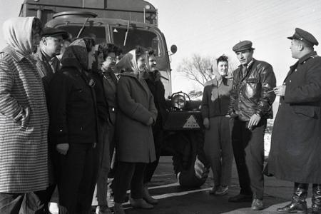 Rok 1961: Ženy za volantom vetriesok