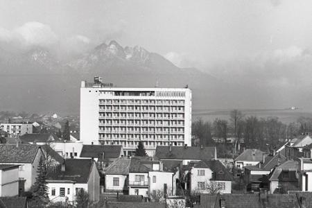 Rok 1967: V Poprade postavili nový hotel Gerlach