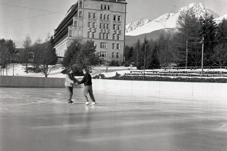 Rok 1955: Nové klzisko pre Vysoké Tatry