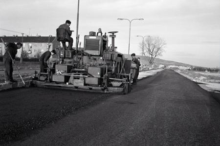 Rok 1971: Do Rače po asfaltovej ceste