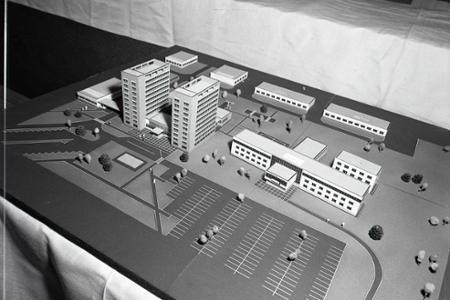 Rok 1972: V Žiline vyrastá nové stredisko Drevoindustrie