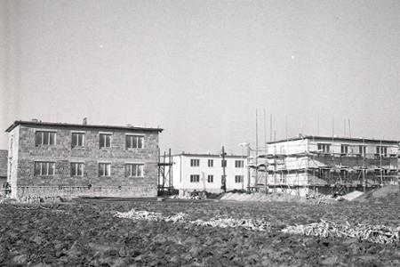 Rok 1962: Na vidieku pribúdajú družstevné  byty