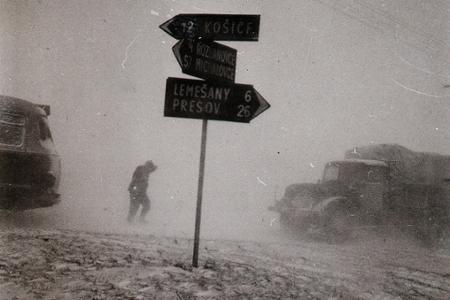 Rok 1963: Viditeľnosť jeden meter a snehová víchrica