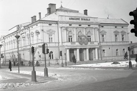 Rok  1954: Martinské Armádne divadlo funguje už 10 rokov