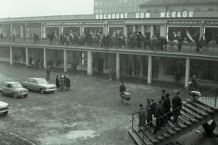 Rok 1966: Obchodný dom Merkúr pre Košice
