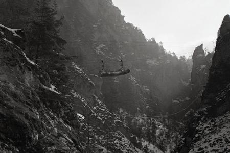 Rok 1959: Šetrná ťažba dreva v Súľovských skalách