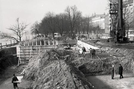 Rok 1968: Na Fajnorom nábreží v Bratislave bude osobný prístav