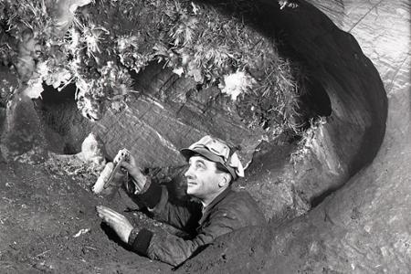 Rok 1957: Odkrývajú krásu novej aragonitovej jaskyne
