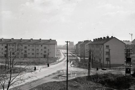 Rok 1957: Bytový boom v Komárne