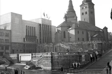 Rok 1954: Krivoľaké uličky Žiliny nahradia nové sídliská
