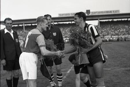 Rok 1955: Slovan Bratislava - FC Botafogo Rio de Janeiro