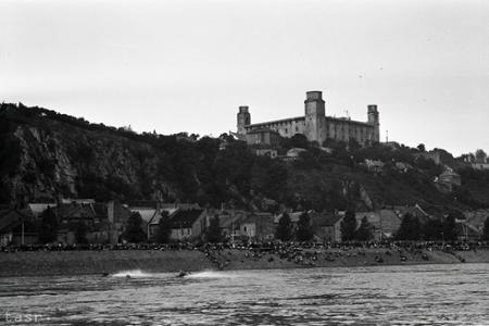 Rok 1959: Motorové člny brázdia hladinu Dunaja v Bratislave