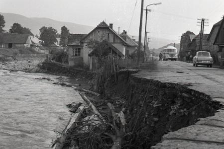 Rok 1970: Letné búrky zatopili Oravu