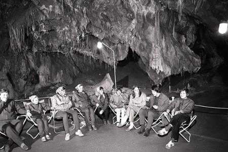 Rok 1971: V Gombaseckej jaskyni začali so speleoterapiou