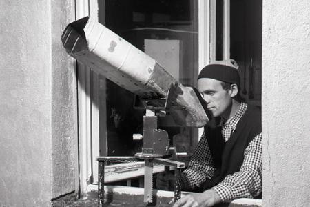 Rok 1957: Z Lomnického štítu bližšie ku kométam