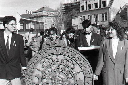 Rok 1992: V Trnave inaugurovali univerzitu