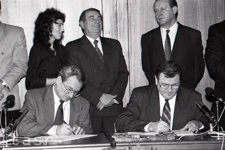 Rok 1992: Vlády sa dohodli na spolupráci samostatných republík
