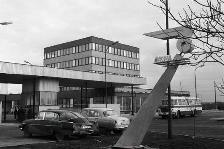 Rok 1973: V Komárne otvorili nový závod ČSAD