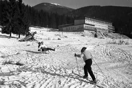 Rok 1962: Na Táloch otvorili horský hotel Partizán