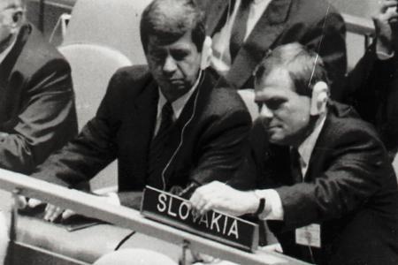 Rok 1993: Slovenskú republiku prijali do OSN