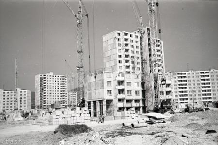Rok 1979: Vbratislavskej Rači rastie nové sídlisko