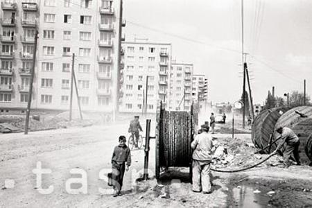 Výstavba Trnavy v čase socializmu