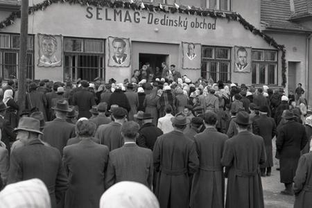 Rok 1953: V Budmericiach otvorili obchodný dom Selmag