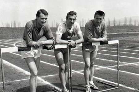 Rok 1956: Sústredenie ľahkých atlétov v Topoľčiankach