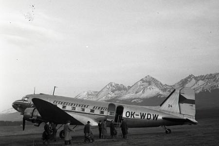 Rok 1956: Otvorili dopravu na nových leteckých linkách