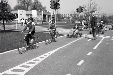 Rok 1986: Najlepšie detské dopravné ihrisko majú v Piešťanoch