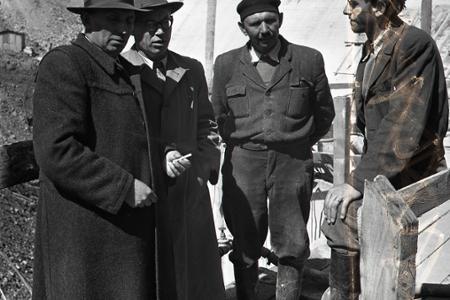 Rok 1953: Blíži sa spustenie prevádzky na Oravskej priehrade