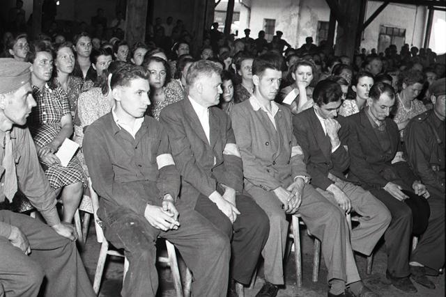 Rok 1950: Za rozkrádanie republiky tvrdé tresty - fotografie - Vtedy