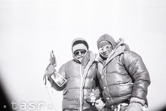 Rok 1984: Prví Slováci na Mount Evereste - fotografie - Vtedy