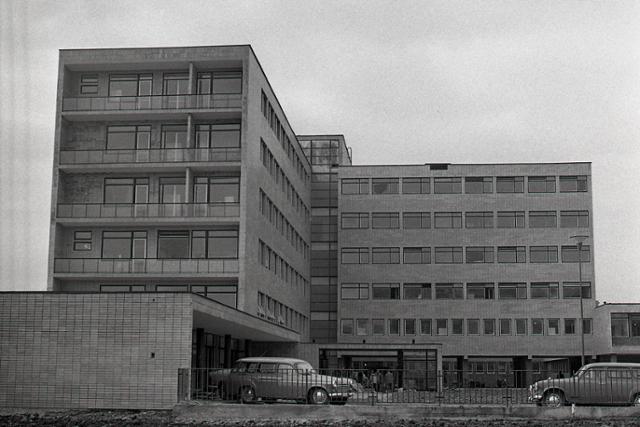 Rok 1968: V Čadci otvorili novú nemocnicu - fotografie - Vtedy
