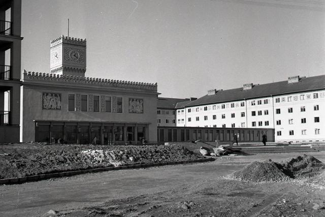 Rok 1955: Život v študentskom domove Mladá garda  - fotografie - Vtedy