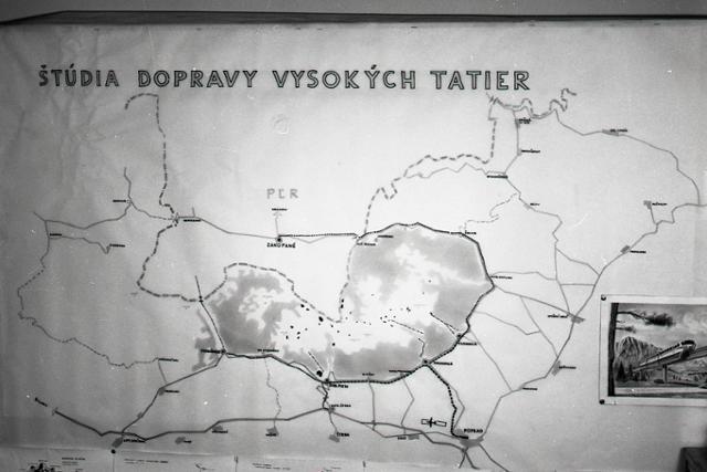 Alweg – futuristická doprava pre Vysoké Tatry - fotografie - Vtedy