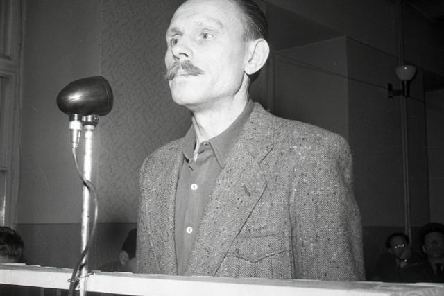 Rok 1959: Nyilašskí vrahovia pred súdom - fotografie - Vtedy