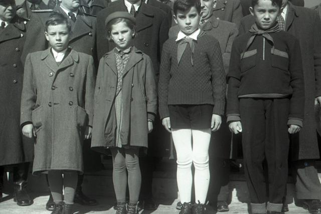 Rok 1955: Desať rokov od oslobodenia Banskej Bystrice  - fotografie - Vtedy