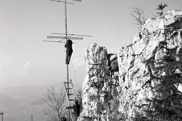 Rok 1959: Kvalitný televízny signál pre Žilinu - fotografie - Vtedy