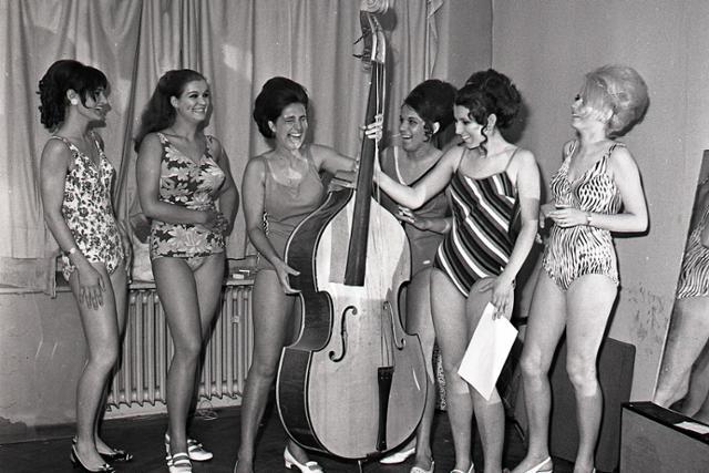 """Bratislavské """"Dievča jari 1969""""  - fotografie - Vtedy"""
