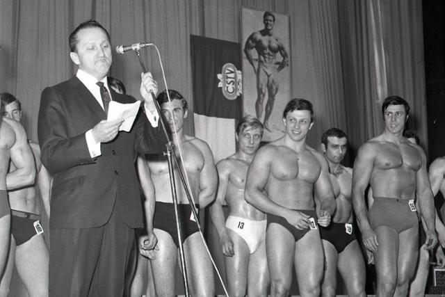 Rok 1968: Prvé Majstrovstvá ČSSR v kulturistike - fotografie - Vtedy