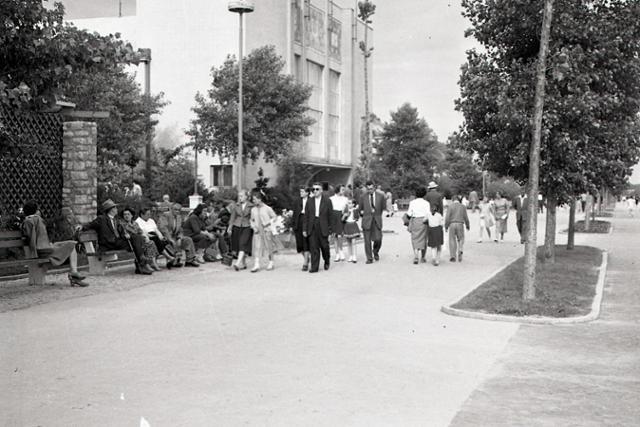 Rok 1958: PKO miesto ušľachtilej zábavy pracujúcich - fotografie - Vtedy